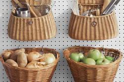 Корзины-полочки для кухни