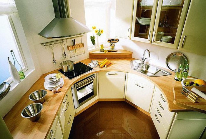 Обустроенная кухня