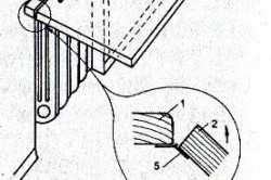 Схема откидного стола
