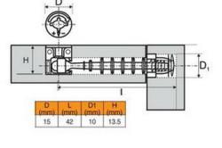 Схема стяжки фанеры эксцентриковым крепежом