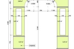 Пример расчетов арки из гипсокартона