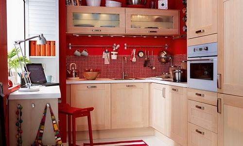 Пример обустройства кухни
