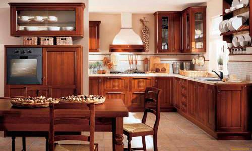 Обеденный стол в интерьер кухни