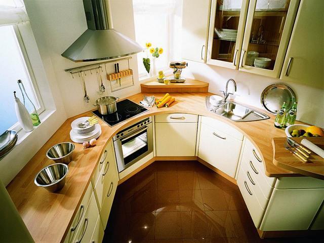 Маленькая функциональная кухня