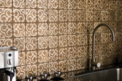 Стены в кухне марокканского стиля