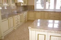 Кухня в мраморе