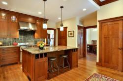 Стиль Крафтсман в интерьере кухни