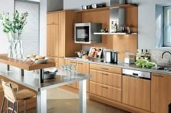 Декор узкой кухни