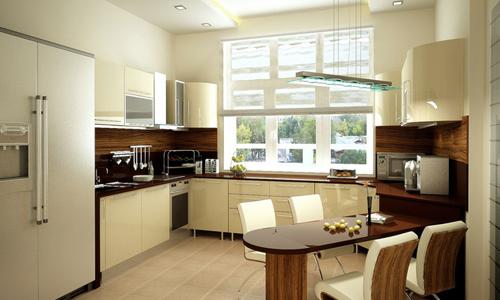 Функциональный интерьер кухни