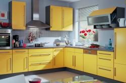 Сочетание цветов на кухне