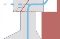 Схема самодельного антивозвратного короба с клапаном