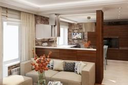 Пример кухни-гостиной