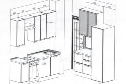Планировка маленькой кухни в хрущевке