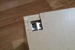 Задняя стенка шкафчика
