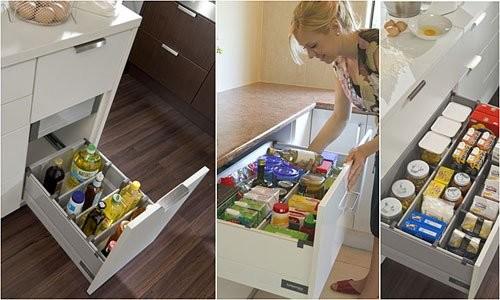 Организация правильного хранения посуды и продуктов на кухне