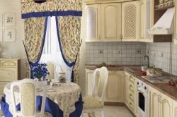 Обустройство кухни в стиле прованс