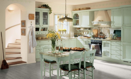 Прованс в дизайне кухни