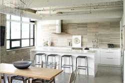 Кухня стиля лофт