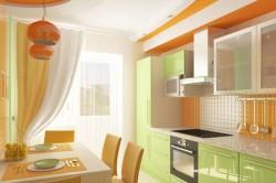 Цветовая гамма оформления кухни