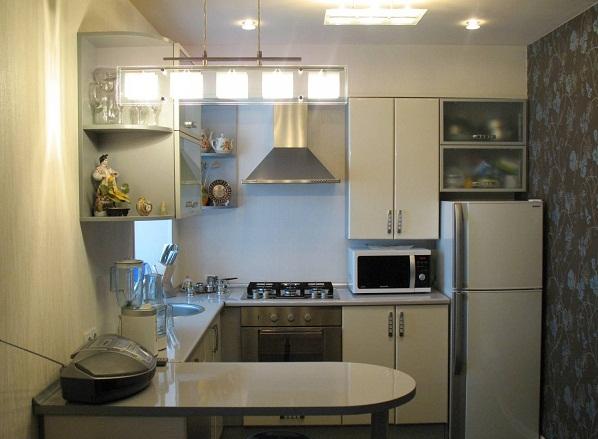 Дизайн кухни хрущевки фото 5 метров