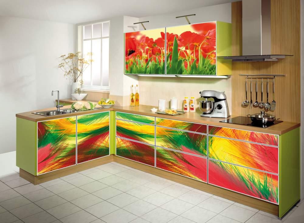 Обновление фасадов современной кухни