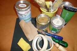 Инструменты для подготовки мебели под покраску