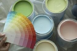 Выбор краски по цветовой гамме