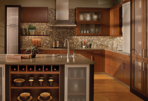 Кухня лофт в интерьере кухни