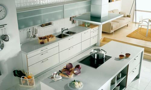 Совмещенные кухня и гостинная