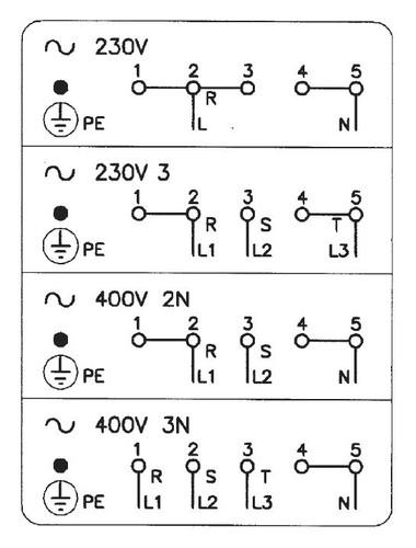 Схема подключения индукционной
