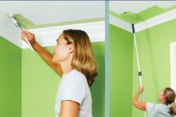 Работы по покраске в помещении