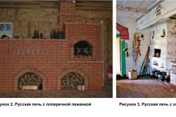 Разновидности русских печей