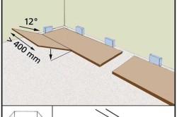 Схема укладки ламината клеевым способом