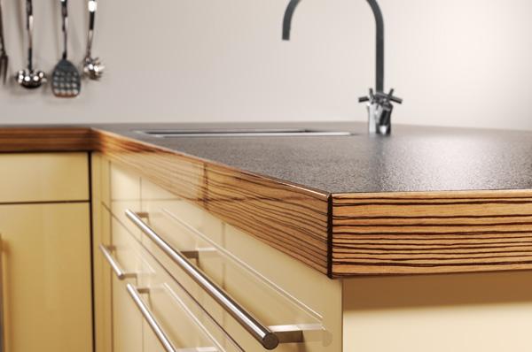 Столешница ламинированная фото заказ стола на кухню из искуственного камня Южная