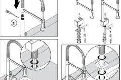 Устройство смесителя для кухни