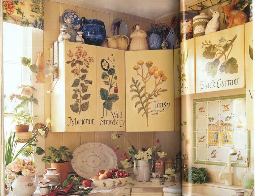 Как декорировать кухонный гарнитур своими руками