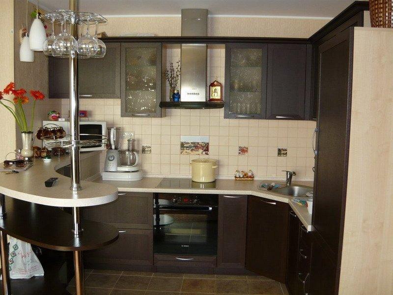 Дизайн кухни в многоэтажке