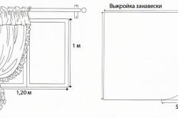 Изображение 1. Чертеж модели без сложных элементов