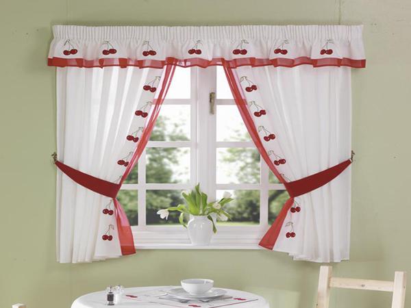 Шторы для кухонного окна