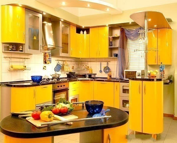 кухни 9 м кв дизайн: