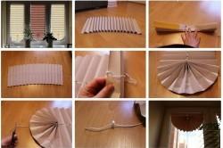 Изготовление жалюзи из бумаги