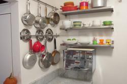 Крючки для посуды на стене