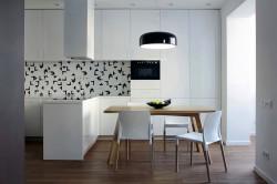 Подсветка на кухне в стиле лофт
