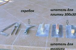 Инструменты для плиточных работ