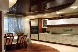 Потолок натяжной для кухни