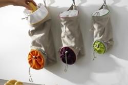 Пример мешочков для хранения овощей и фруктов