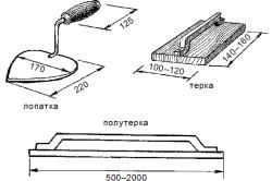 Схема инструментов для удаления затирки