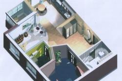 Визуализация интерьер в 3D программе