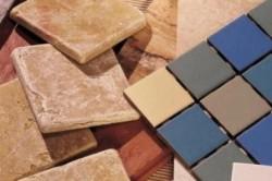 Выбор цвета плитки
