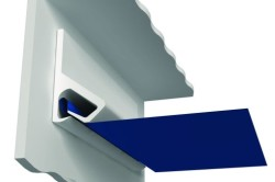 Кулачковый метод крепления натяжного потолка